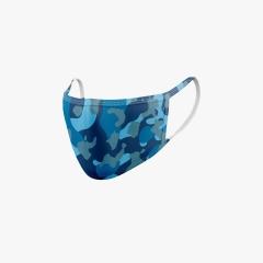 Maske Camouflage Blau