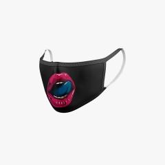 Mundschutz Lippen 80's Pop Art