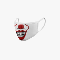 Mundschutz Maske Halloween Dracula Clown
